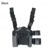 Gun OWB Belt Holster with Magazine Pouch G17 Tactical Holster + platform PP7-0007| PPT P.P.T