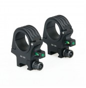 Canis Latrans 30-35mm RIFLESCOPE BUBBLE LEVEL MOUNT PP24-0158 | PPT P.P.T