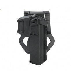 Black and Tan Universal Genuine Leather Gun Holster Movable Holsters Glock Series PP7-0057 | PPT P.P.T