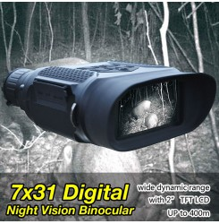 "7x31 Digital Night Vision Binocular wide dynamic range with 2"" TFT LCD  PP37-0035 | PPT P.P.T"