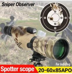 Canis Latrans 20~60x85APO Spotting scope,Spotter scope PP26-0027 | PPT P.P.T
