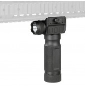 Tactical Vertical Foregrip Flashlight for AR-15/M-16 Rifles PP15-0014 | PPT P.P.T