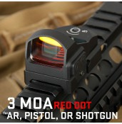 1x Red Dot Sight,3 MOA Dot PP2-0117 | PPT P.P.T