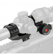 25.4mm or 30mm Rifle Scopes mount,Double ring+Angle Degree Indicator PP24-0187 | PPT P.P.T