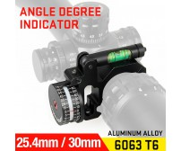 25.4mm or 30mm Rifle Scopes mount,Angle Degree Indicator PP24-0184 | PPT P.P.T