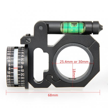 25.4mm or 30mm Rifle Scopes mount,Angle Degree Indicator PP24-0184   PPT P.P.T