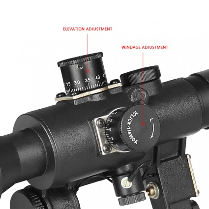 Russia AK SVD Dragunov 4x26 sniper 3 9x24 rifle scope,side rail mount for hunting&shooting PP1-0061 | PPT P.P.T