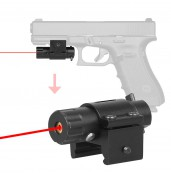 Spike Red laser Sight for Gun Rifle Pistol Weaver Mount Rail with Wrenches PP20-0049 | PPT P.P.T