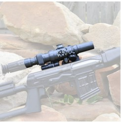 Russia AK SVD Dragunov sniper 3-9x24 rifle scope,side rail mount for hunting&shooting PP1-0329 | PPT P.P.T