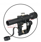 Russia AK SVD Dragunov sniper rifle scope,side rail mount for hunting&shooting PP1-0331 | PPT P.P.T