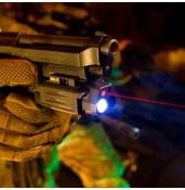 Tactical flashlight, outdoor flashlight, handgun flashlight PP15-0087 | PPT P.P.T