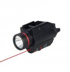 Tactical flashlight,Weapons flashlight, laser flashlight PP15-0096   PPT P.P.T
