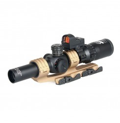 Canis Latrans 2.5x-10x Rifle Scope+red dot+Rail+Mount for hunting PP1-0345 | PPT P.P.T