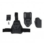 226 Kydex Holster Set, 226 gun use, leg plate and waist belt using PP7-0084   PPT P.P.T