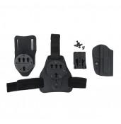M92 Kydex Holster Set, M92 gun use, leg plate and waist belt using PP7-0085   PPT P.P.T