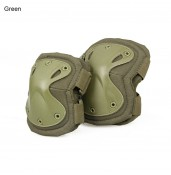 Tactical X Shape Knee Elbow Pads Set Soft Panel Adjustable Size Safety Protective Military Elbow Pads Tactical Knee Pads Police Elbow Knee Pads PP10-0008A | PPT P.P.T