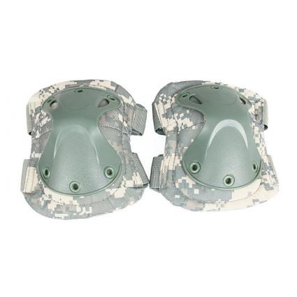 Tactical X Shape Knee Elbow Pads Set PP10-0008B | PPT P.P.T