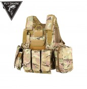 Molle Tactical Military Vest for hiking hunting and camping  PP4-0028 | PPT P.P.T