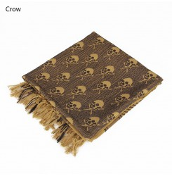 Tactical Camouflage Cotton Knitted Cashmere Pashmina Scarf PP29-0062   PPT P.P.T