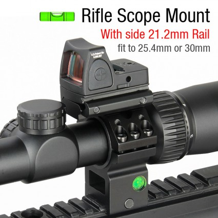 25.4mm or 30mm Rifle Scopes mount Bubble level PP24-0199 | PPT P.P.T