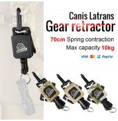 Tactical gear retractor, handgun sling,Spring sling PP33-0081   PPT P.P.T