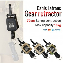 Tactical gear retractor, handgun sling,Spring sling PP33-0081 | PPT P.P.T
