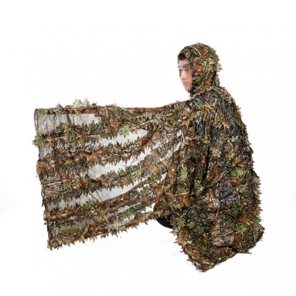 Leaves camouflage bird watching,bionic camouflage patches PP34-0075  PPT P.P.T