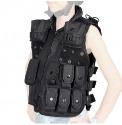 Water safety vest Encryption 600D Oxford Cloth tactical vest fabric for kid PP4-0030| PPT P.P.T