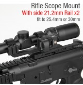 25.4mm or 30mm Rifle Scopes mount PP24-0202 | PPT P.P.T