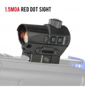 1.5MOA Red Dot Scope PP2-0124   PPT P.P.T