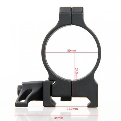 Canislatrans 30mm Rifle Scopes mount,Double ring PP24-0183 | PPT P.P.T