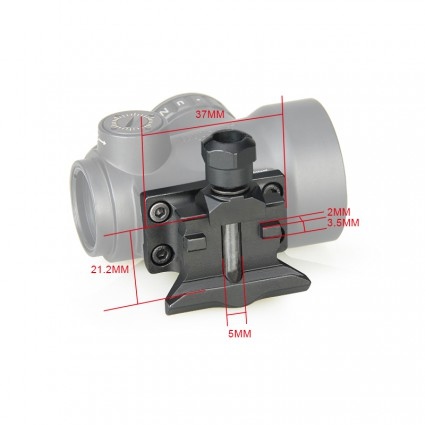 Mount For Mro Red Dot Scope PP24-0218 | PPT P.P.T
