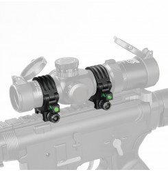 Canis Latrans 30mm-35mm Scope Mount w/ Air-bubble level 7075 aluminum PP24-0138 | PPT P.P.T