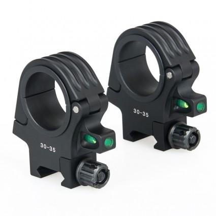 Canis Latrans 30-35mm RIFLESCOPE BUBBLE LEVEL MOUNT PP24-0158   PPT P.P.T