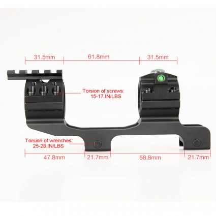25.4mm or 30mm Rifle Scopes mount PP24-0203   PPT P.P.T