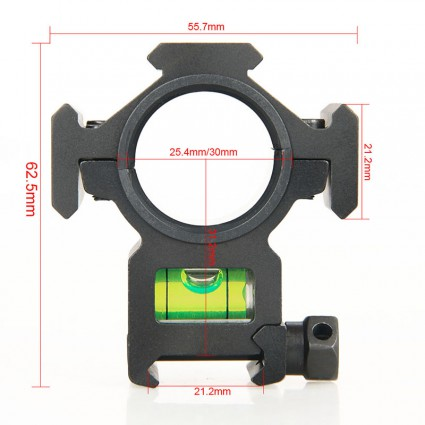 25.4mm or 30mm Rifle Scopes mount PP24-0205   PPT P.P.T