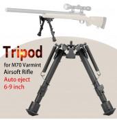 QD 6-9 Inch M70 Tripod, auto eject ,Tactical Bipod PP17-0001   PPT P.P.T