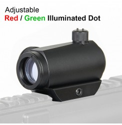 1x Micro T1 Reflex Red Dot Scope Sight with Low mount  PP2-0004 | PPT P.P.T