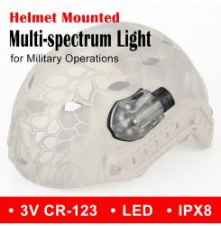 Manta Strobe helmet mounted multi-spectrum light PP33-0030 | PPT P.P.T