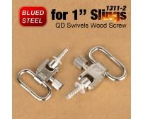 "QD Swivels Wood Screw 1311-2 for 1"" Slings Bolt Mount PP33-0217 | PPT P.P.T"