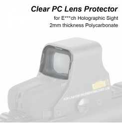 Clear PC Lens Protector for E***ch Holographic Sight Airsoft PP33-0009   PPT P.P.T