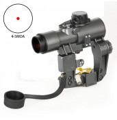 Vector Optics SVD Dragunov 1x28 Red Dot Scope Fit AK Scope AK47 Caliber PP2-0120 | PPT P.P.T