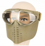 Airsoft Full-Face Mask w/ Integrated Fan PP9-0008 | PPT P.P.T