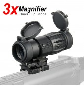 3x Magnifier Quick Flip Scope Flip To Side PP1-0002 | PPT P.P.T