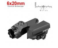 Tactical Riflescope D-EVO 6x20mm PP2-121 | PPT P.P.T