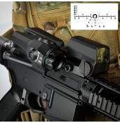Tactical Riflescope D-EVO 6x20mm+1x red dot scope PP2-122   PPT P.P.T