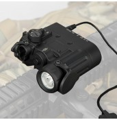 Tactical flashlight, outdoor flashlight, DBAL-D2 Dual Beam Aiming Laser PP15-0088 | PPT P.P.T