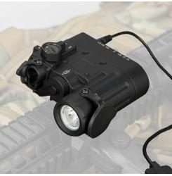 Tactical flashlight, outdoor flashlight, DBAL-D2 Dual Beam Aiming Laser PP15-0088   PPT P.P.T