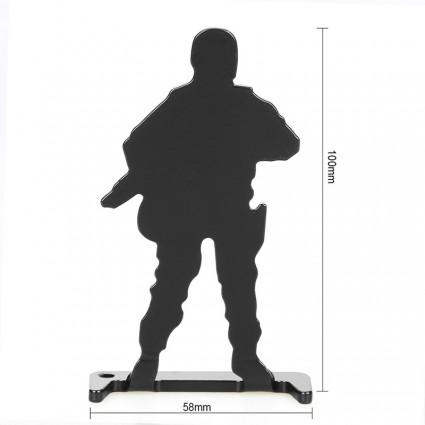 Bull's-Eye Target,Iron shooting practice target, 6 Pieces Set PP36-0016  | PPT P.P.T