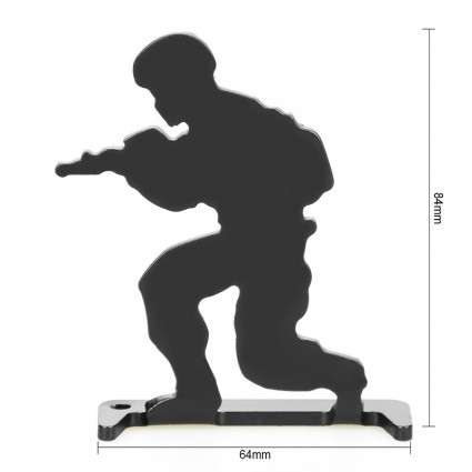 Bull's-Eye Target,Iron shooting practice target, 6 Pieces Set PP36-0018  | PPT P.P.T